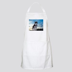 Husky Dog Outdoors Apron